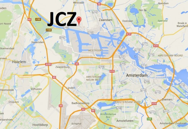 JC Zaanstad map